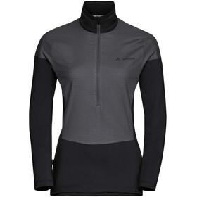 VAUDE W's Bormio Halfzip Hybrid Pullover black